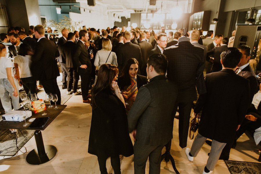 Woolcott St Launch 2019 Crowd