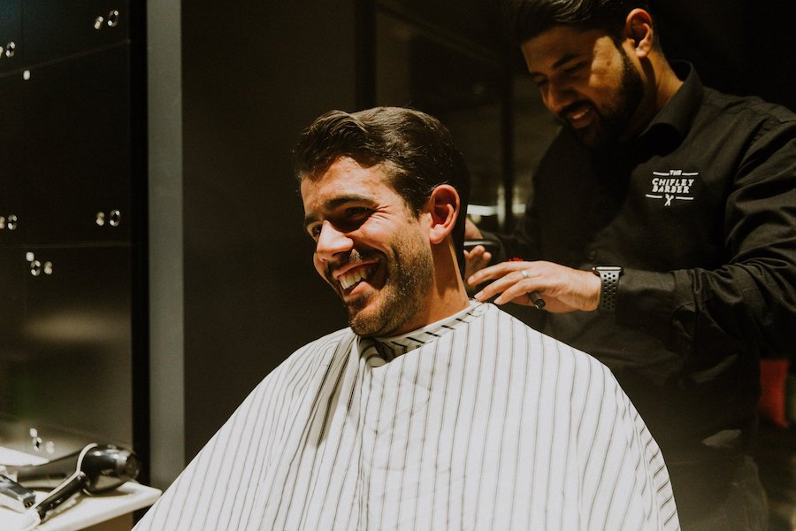 Woolcott St Men's Winter Fashion Launch 2019 Barber
