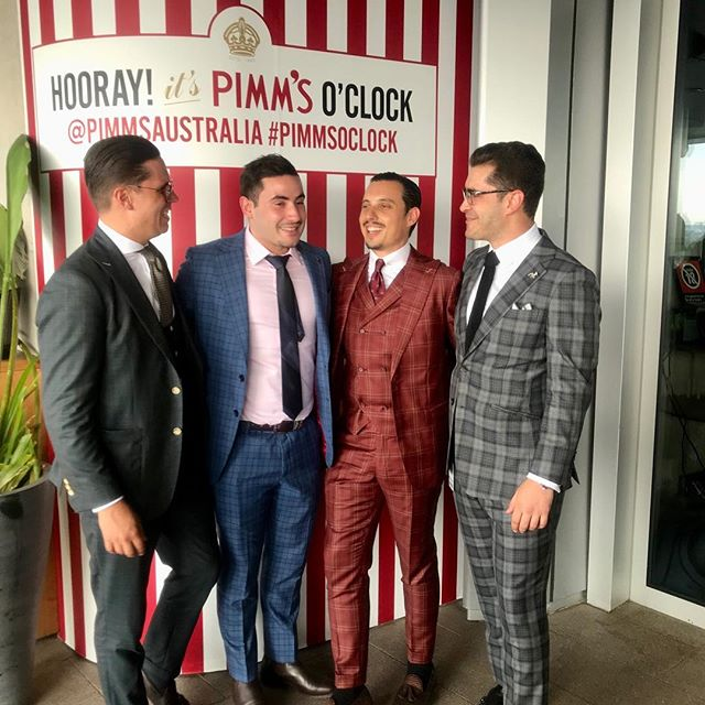men's fashion for the races